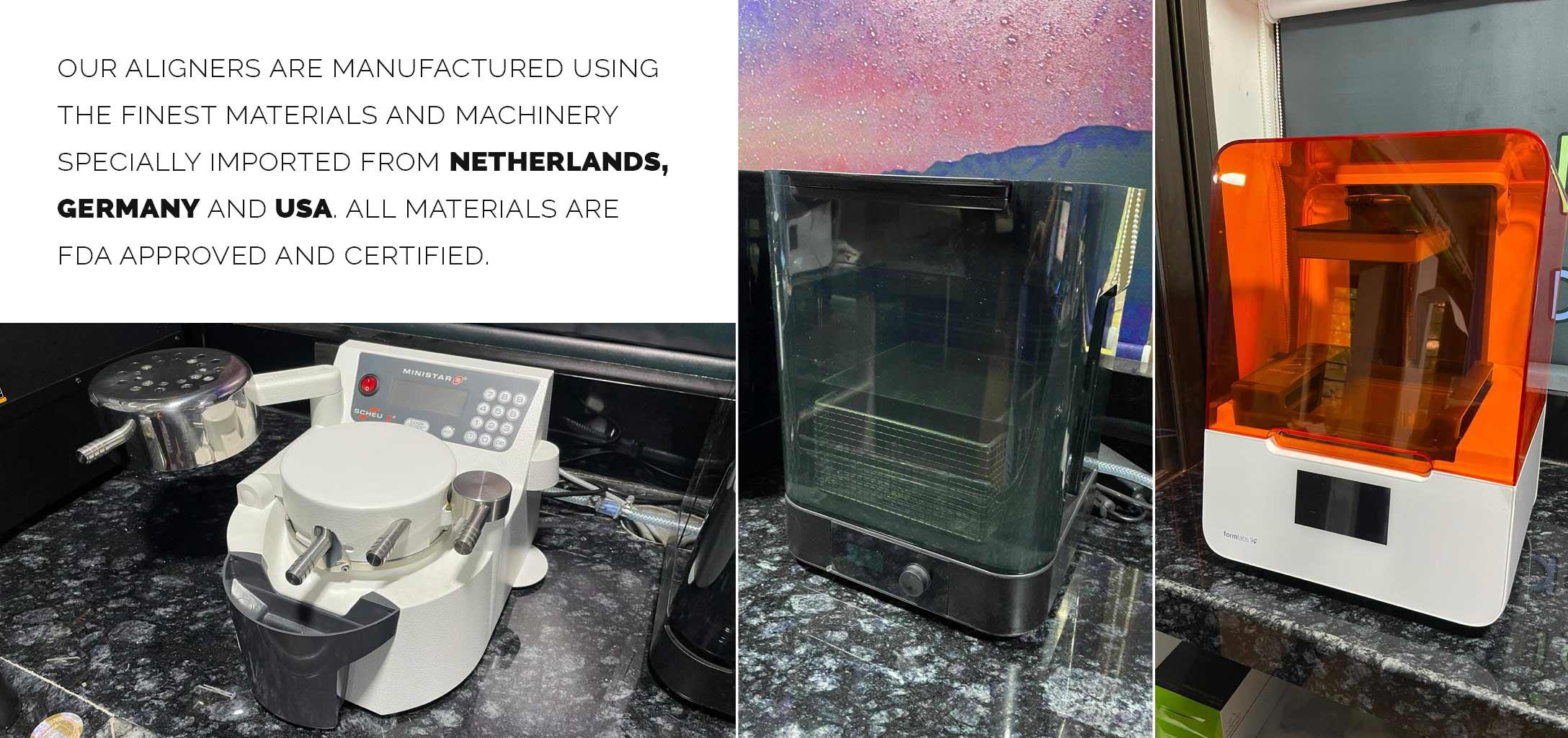 aligner factari manufacturing